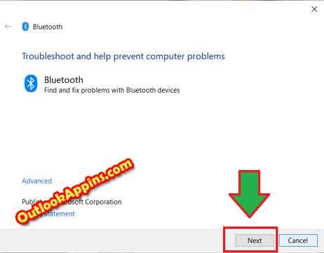 headset bluetooth troubleshooter windows 10