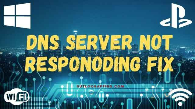 the dns server not responding fix