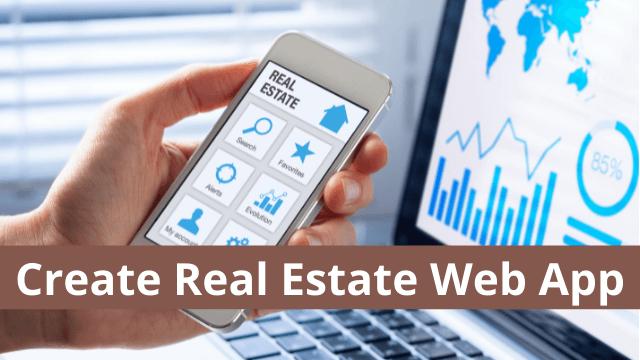Create Real Estate Web App