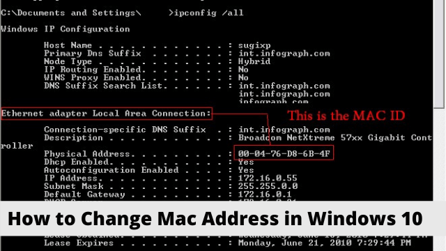 How to Change Mac Address in Windows 10 - Detailed Guide