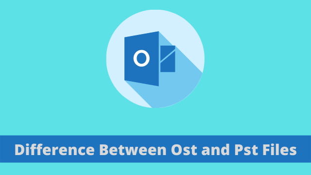 Difference Between Ost and Pst Files