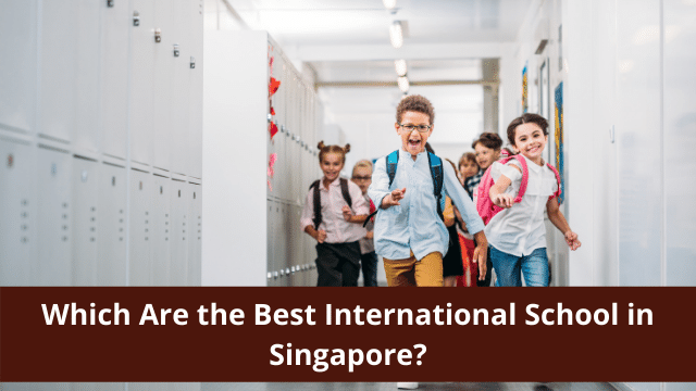 Which Are the Best International School in Singapore