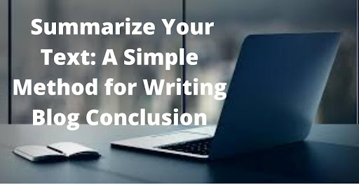 Are you find it difficult to summarize your content? Then, we are going to share some best approaches to do it. Sometimes, it is difficult to read lengthy content, and that's the time we need to summarize our content. But the question is, how can we do it? When it comes to summarizing the text, there are mainly two methods: doing it manually or using an online summary tool. We are going to discuss both of the methods and their limitations as well. What is summarization? Summarization is the process of generating a summary of lengthy content, but many people may be confused about a summary. A summary is precise information of a content; some people may not read lengthy research papers so, they read summary only. Five steps to generate a summary or blog conclusion When it comes to concluding a blog in few lines, being precise is very needed, but it is not over on precision. Few more steps help make the conclusion more readable and practical. Let's have a look at these steps. Go through the blog carefully The primary thing is to read the content thoroughly, and once you are done reading, many things will be automatically cleared. To generate a conclusion, you need to know about everything, either minimal or significant things that has a great impact on the blog. Sometimes, we ignore small things without considering their importance, which we termed a bad approach. Take out the purpose of the blog Taking out or highlighting the primary purpose of a blog can only be possible by proofreading the content. Keep in mind that the more you read the content, the more you know about the essential points. So, it is compulsory to take out the blog's purpose, and we explained how you could do it. When you are writing a conclusion, you must know why you are writing this conclusion and the main idea of this blog. Highlight the main points Some people find summarizing very difficult, but following the right approach is the most straightforward task. And right approach is to highlight 
